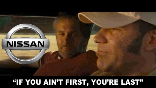 Nissan Super Bowl Commercial — The Ricky Bobby / Talladega Nights Version