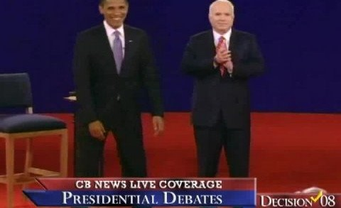 2nd Presidential Debate – Blooper — Tom Brokaw and The Teleprompter