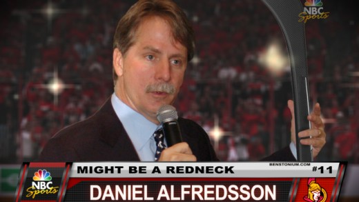 Player Shot – Daniel Alfredsson