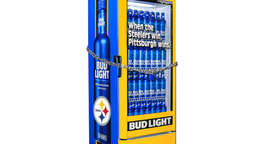 Steelers Bud Light Cooler