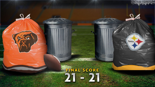 Garbage Bags – Browns vs. Steelers