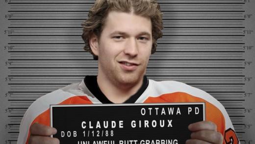 Claude Giroux Mugshot
