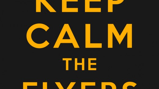 Keep Calm The Flyers Suck