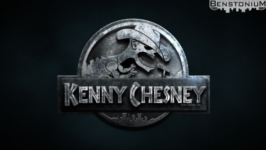 "Kenny Chesney / ""Jurassic World"" Logo"