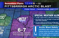Weather Map – Arctic Blast