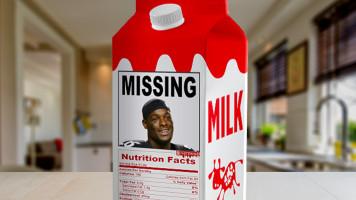 Le'Veon is Missing – Milk Carton