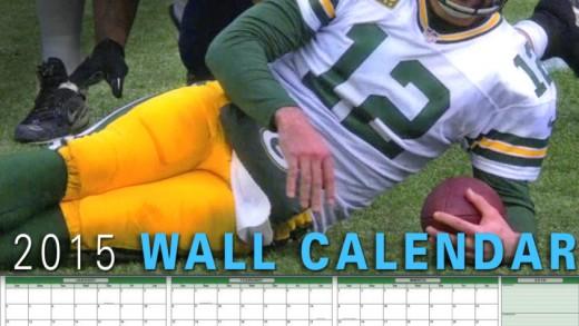 Aaron Rodgers – NFL QB Wall Calendar