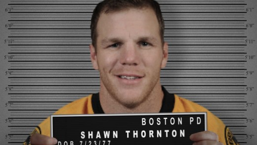 Shawn Thornton Mugshot