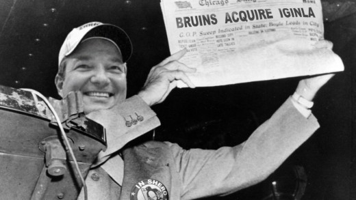 Ray Shero / Dewey Defeats Truman