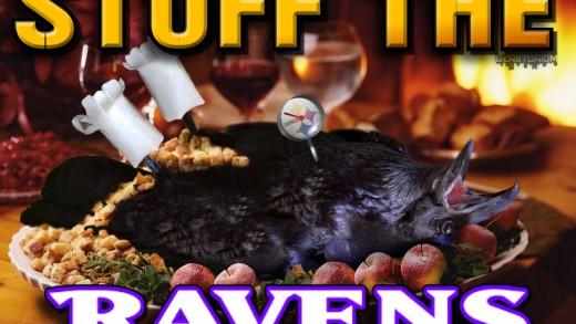 """Stuff The Ravens"" on Thanksgiving"