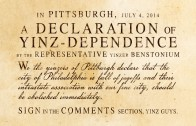 Declaration of Yinz-dependence