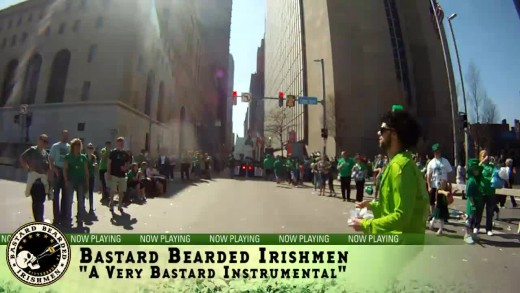 Timelapse Video Through The Pittsburgh St. Patrick's Day Parade