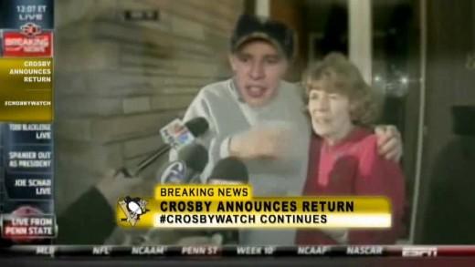Crosby / Joe Paterno Press Conference Remix