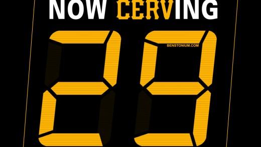 Now Cerv-ing #29 / Cervelli Poster