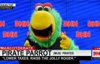 Mascot Debate – Pirate Parrot