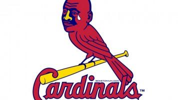 Cardinals / Crying MJ Logo