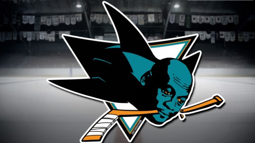 Sharks Crying MJ Logo