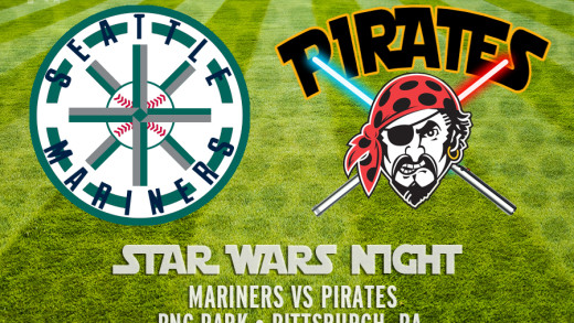 "Buccos / ""Star Wars Night"" Poster"