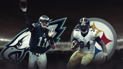 Steelers vs. Eagles — Gameday Poster