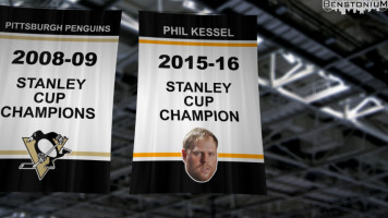 Phil Kessel Stanley Cup Banner