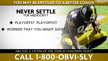 Coach Tomlin Class-Action Lawsuit Commercial Parody