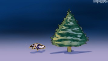 Eat'n Park Christmas Tree — Steelers Version