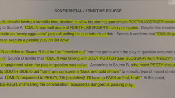 BuzzFeed's Dossier on Mike Tomlin