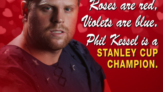 Phil Kessel Valentine's Day Card