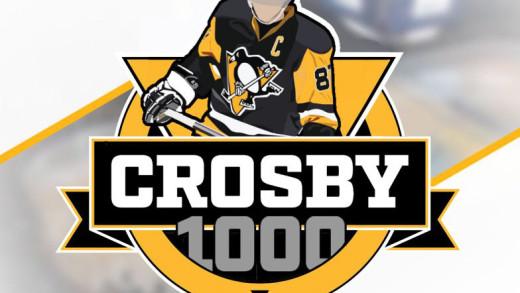 Sidney #Crosby1000