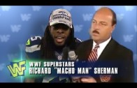 Seahawks' Richard Sherman / WWF Interview Remix