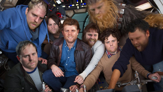 Phil Kessel / 'Star Wars' Cast Photo
