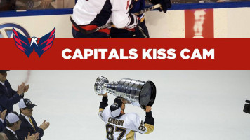 Kiss Cam – Pens vs. Caps