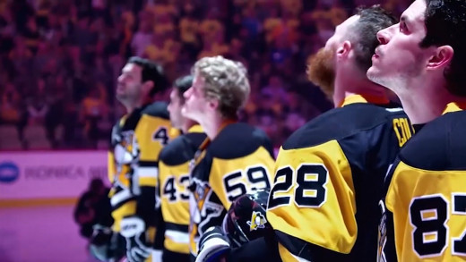 "Pens vs. Caps, Game 7 Opening Montage — ""Everlong"""