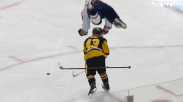 Conor Sheary's Epic Hipcheck
