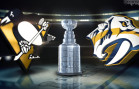 Pens vs. Preds – Gameday Poster