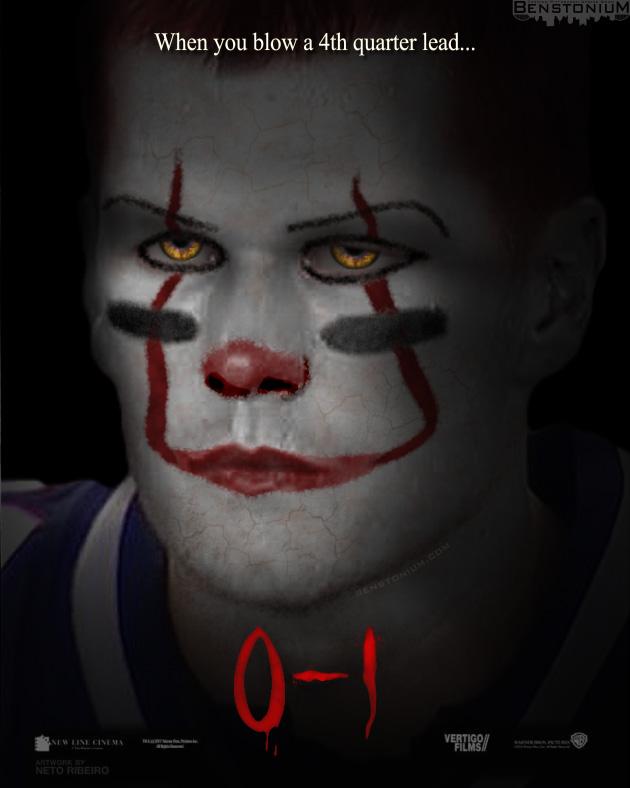 "Tom Brady / ""It"" Movie Poster | Benstonium"