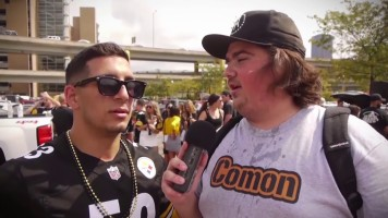 Benstonium's Drew Brown @ Steelers Home Opener