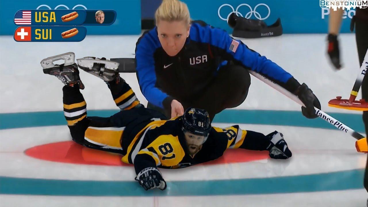 Olympic Curling with Phil Kessel | Benstonium