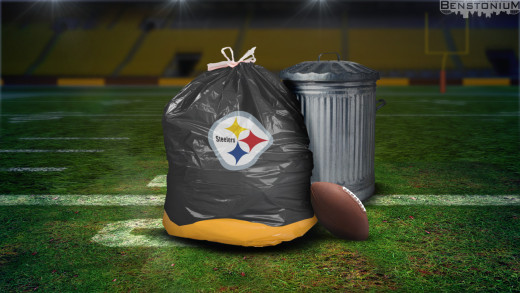Steelers Garbage Bag