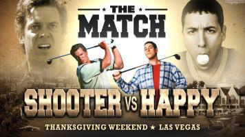 Shooter vs. Happy Gilmore – Tiger vs. Phil Parody