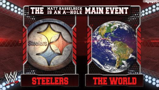 WWE Matchup – Steelers vs. The World