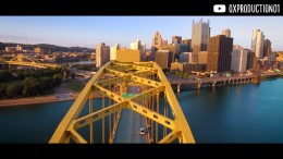 """Pittsburgh From Above"" 