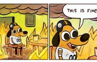 "Steelers ""This Is Fine"" Meme"
