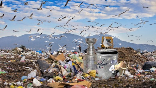 Tom Wilson's Day with the Cup (by @gburgcole)