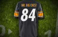 "Antonio Brown ""Mr. Big Chest"" Jersey"