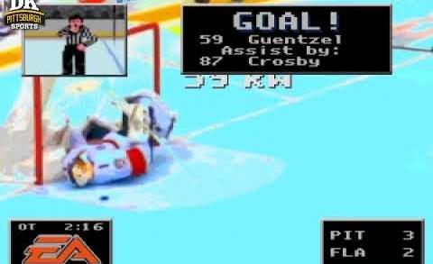 NHL '94 Replay – Guentzel's OT Winner vs. FLA
