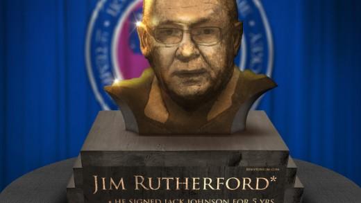 GMJR Hall of Fame Bust Statue