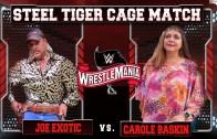 WWE Matchup Screen – Joe Exotic vs. Carole Baskin