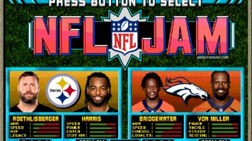 NFL Jam – Steelers vs. Broncos
