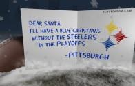 "Steelers ""Blue Christmas"" Card"